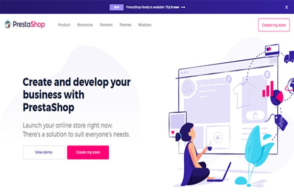 Prestashop, one of the best Woocommerce competitor