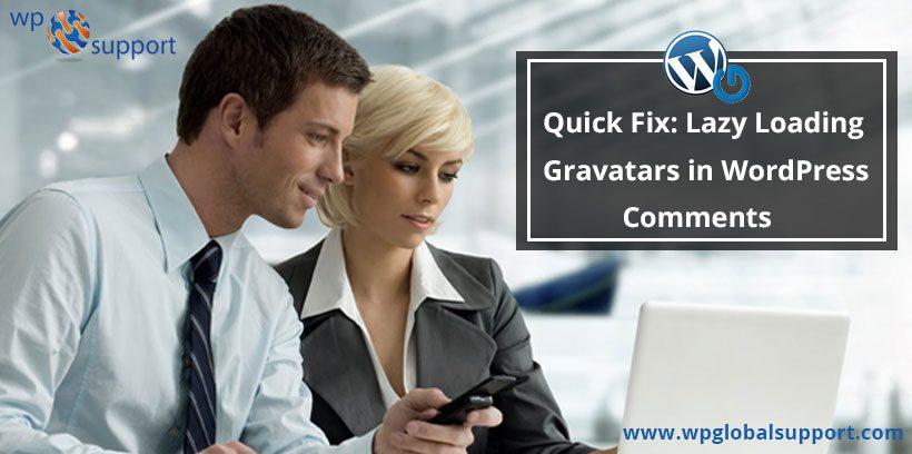 Quick Fix Lazy Loading Gravatars in WordPress Comments