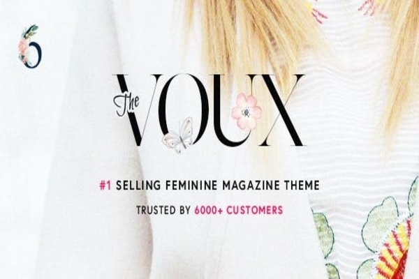 The Voux fashion WP theme