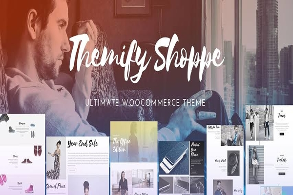Themify Shoppe Ultimate WP theme