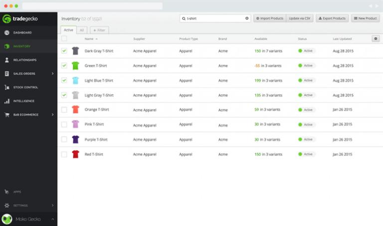 TradeGecko, WooCommerce inventory management tool