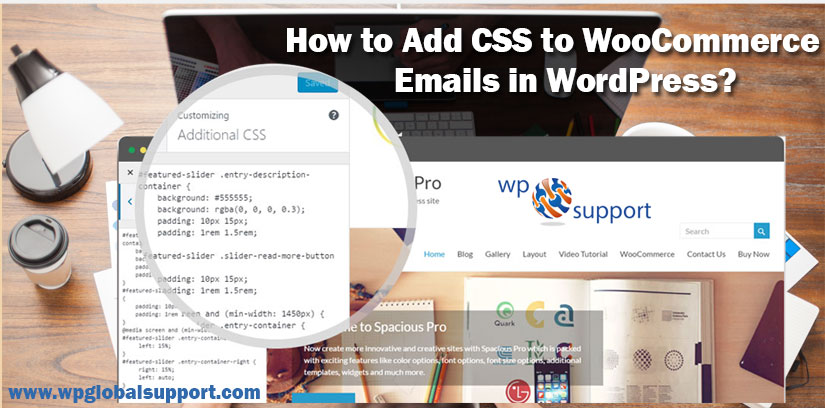 How to Add CSS to WooCommerce Emails in WordPress?