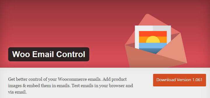WooCommerce emails control plugin