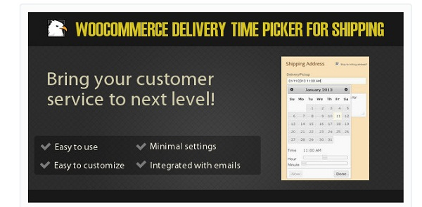 Woocommerce Delivery Time Picker
