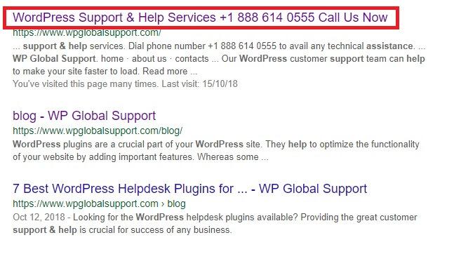 Wordpress yoast title settings