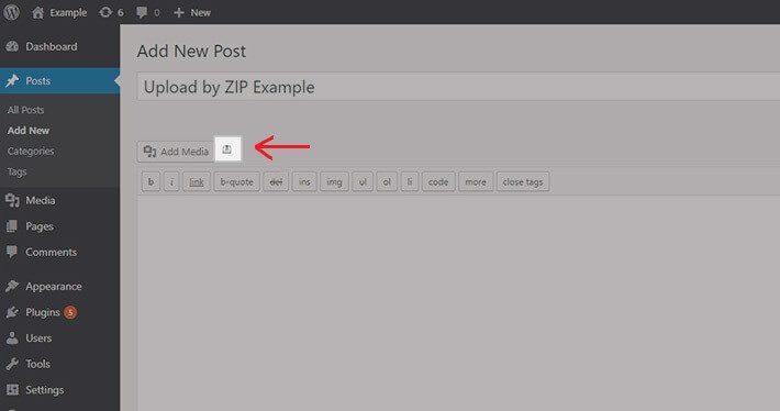 bulk upload files to wordpress