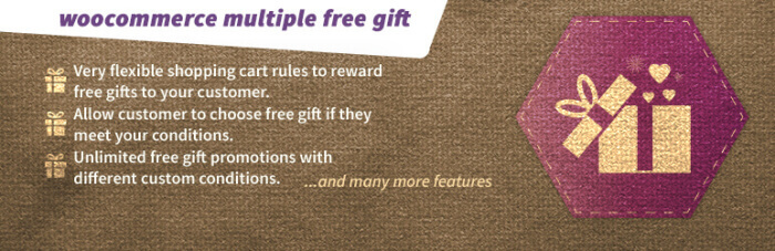WooCommerce free-gift