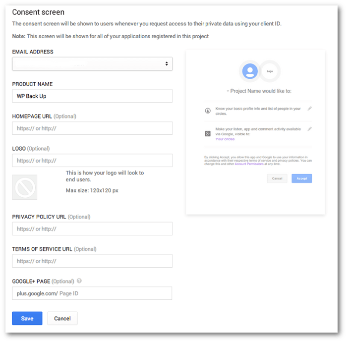 google-project-consent