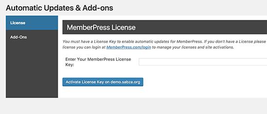 memberpress license