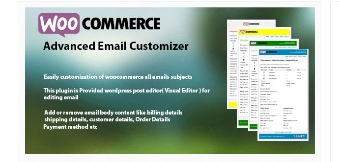WooCommerce advanced emails