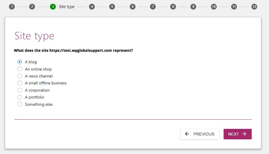 Site type