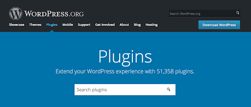 Official directory of WordPress
