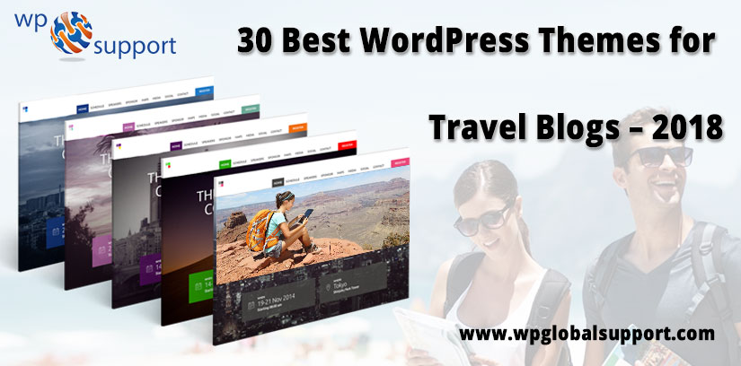 30 Best WordPress Themes for Travel Blogs – 2018