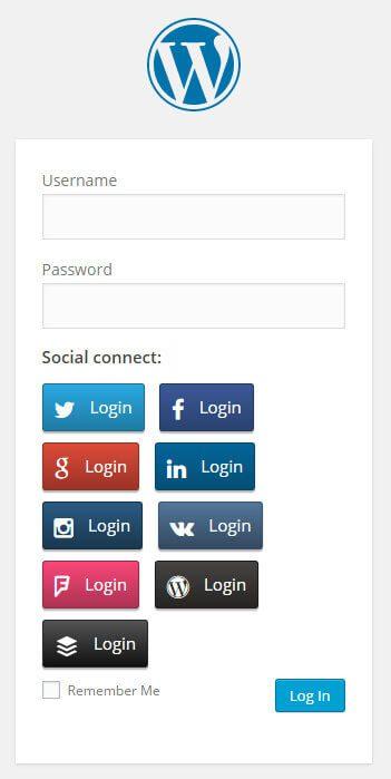 Social Login Plugins