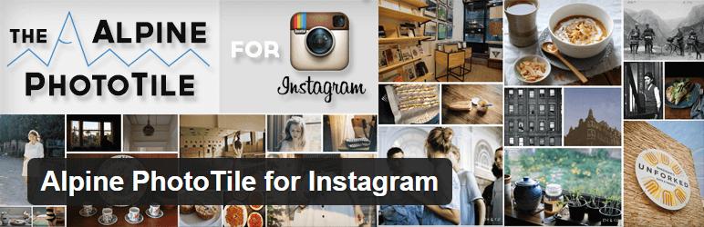 Alpine PhotoTile for Instagram