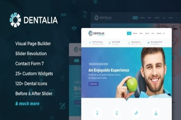 Dentalia WordPress theme