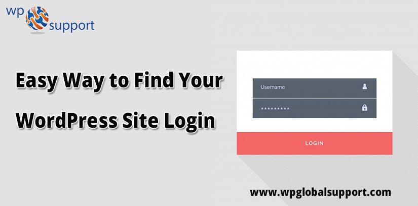 Easy Way to Find Your WordPress Site Login URL