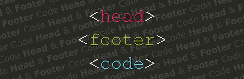 Head & Footer Code Plugin