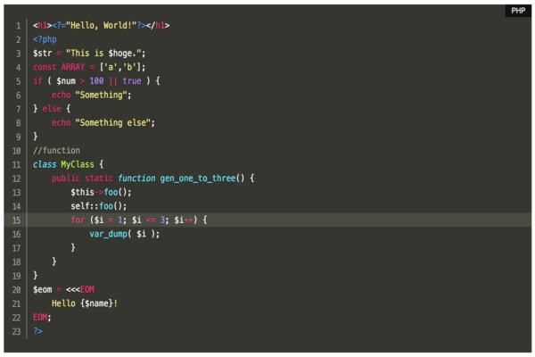 Highlighting Code Block WordPress plugin