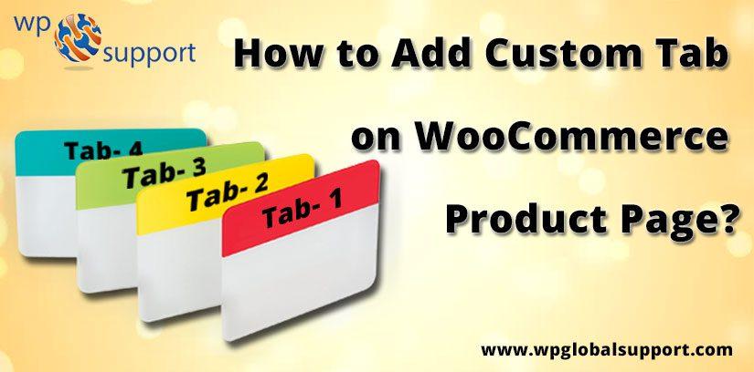 Add Custom Tab on WooCommerce Product Page