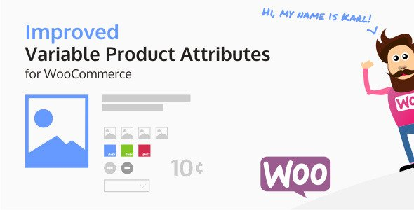 Improved variable product attribute for WooCommerce plugin