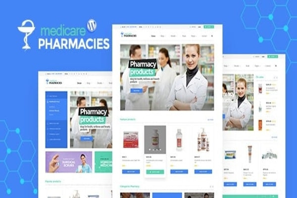 Medicare health WordPress theme
