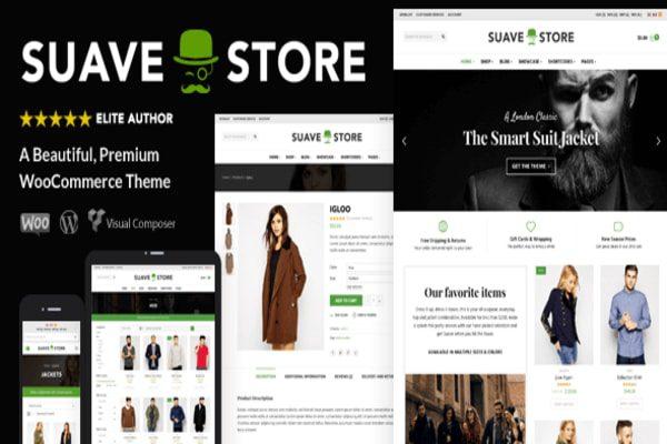 Sauve store Woocommerce theme