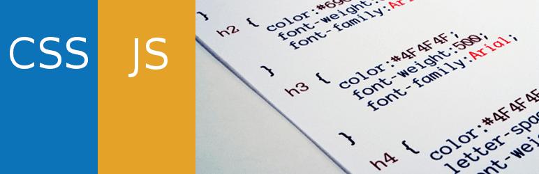 Simple Custom CSS & JS Plugin