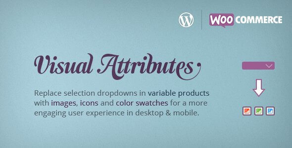 Visual Attributes – WooCommerce Variable Products