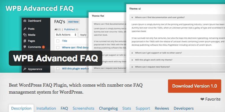 5 Best Free FAQ Plugins For WordPress Websites - 2018