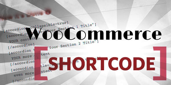 WooCommerce shortcode