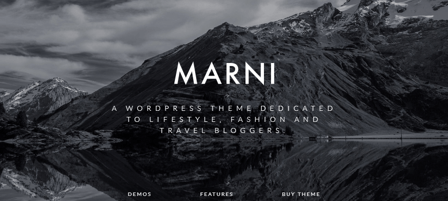 Marni WordPress theme