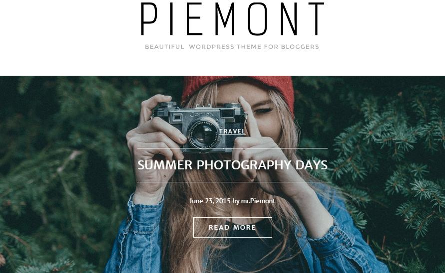 piemont theme