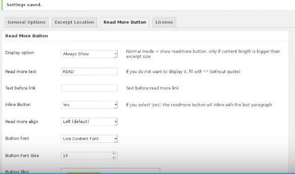 read more settings
