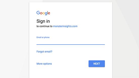 signin googleaccount