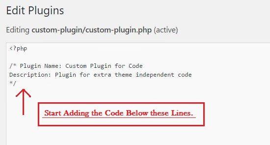 start adding code