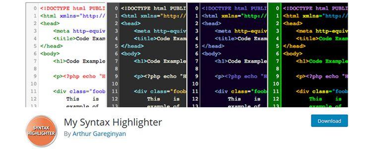 My Syntax Highlighter