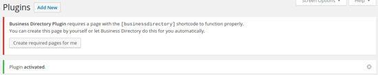 Add A Directory Activate Plugin