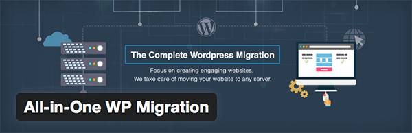 All in One WP Migration plugin (1)