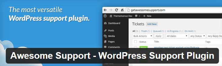 Awesome Support WordPress plugin