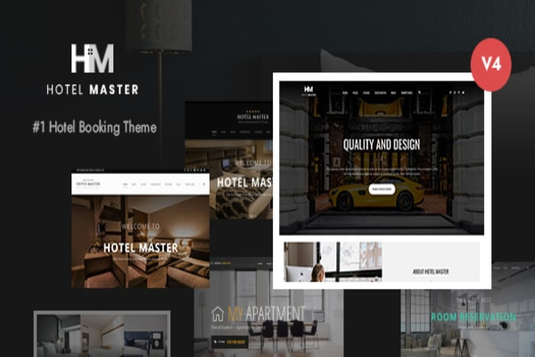 Hotel Master WordPress theme