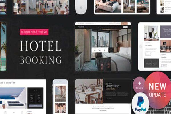 Hotel booking Word press theme