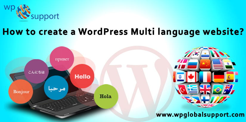 How to create a WordPress Multi language website?