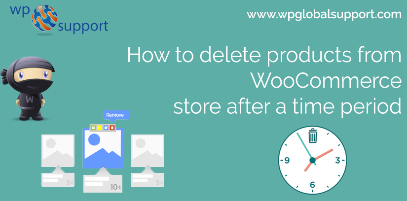 How to delete products from WooCommerce store after a time period