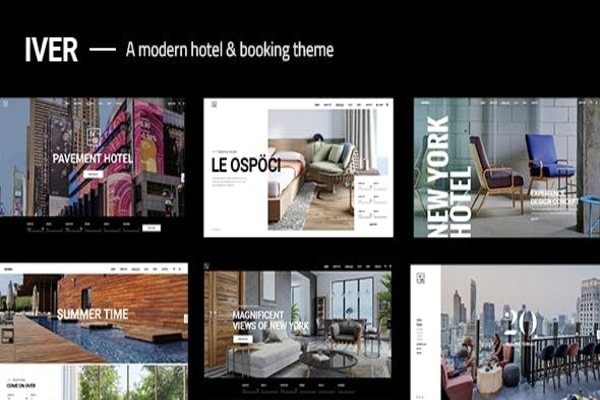 Iver hotel & booking theme