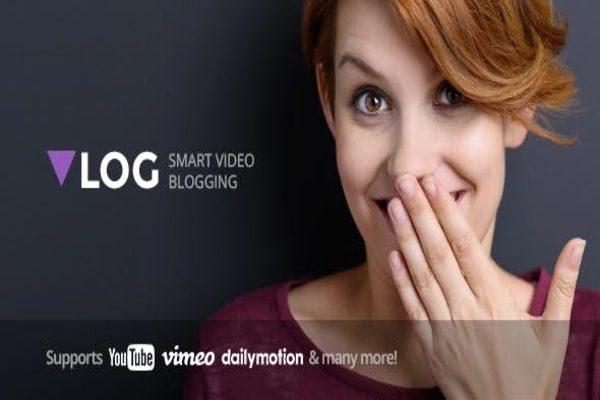 Vlog Video WordPress theme