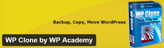 WordPress Migration Plugin WP Clone