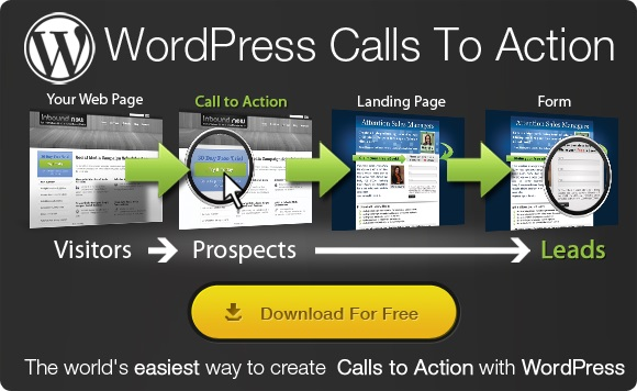 Wordpress call to action