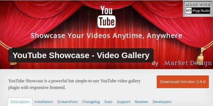 YouTube Showcase