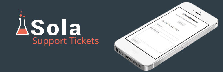 Sola Support tickets WordPress plugin